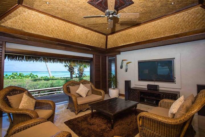 Te Manava 5 Star Presidential Beachfront Villa 3B