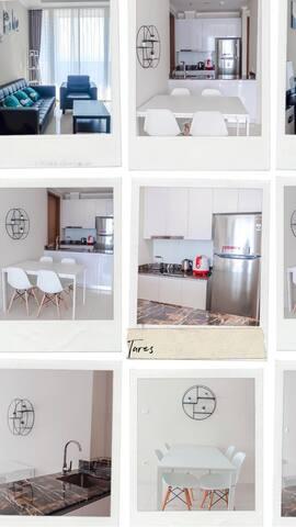 NEW!Clean 2BR condominium, FREE WIFI@Taman Anggrek