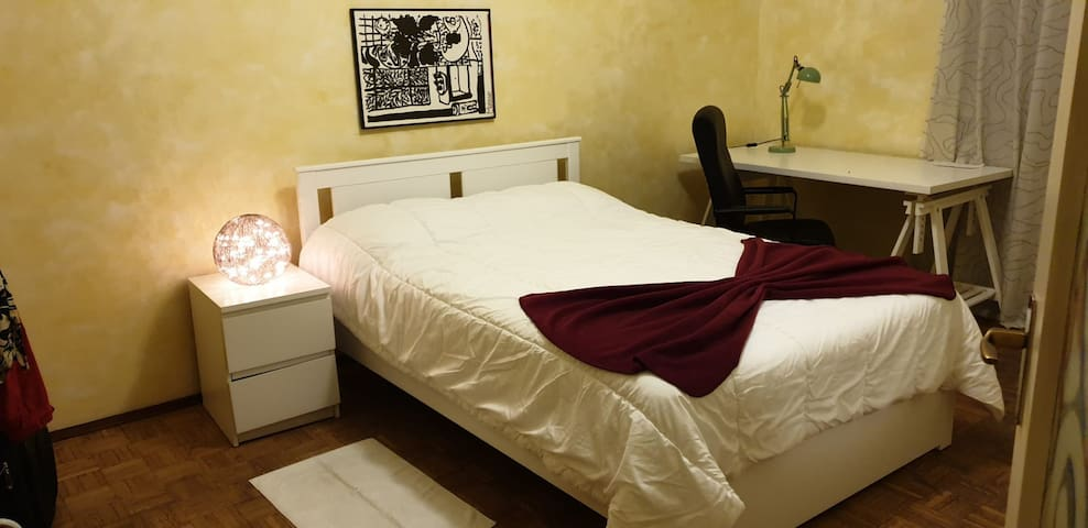BIG room in large apartment - great stay