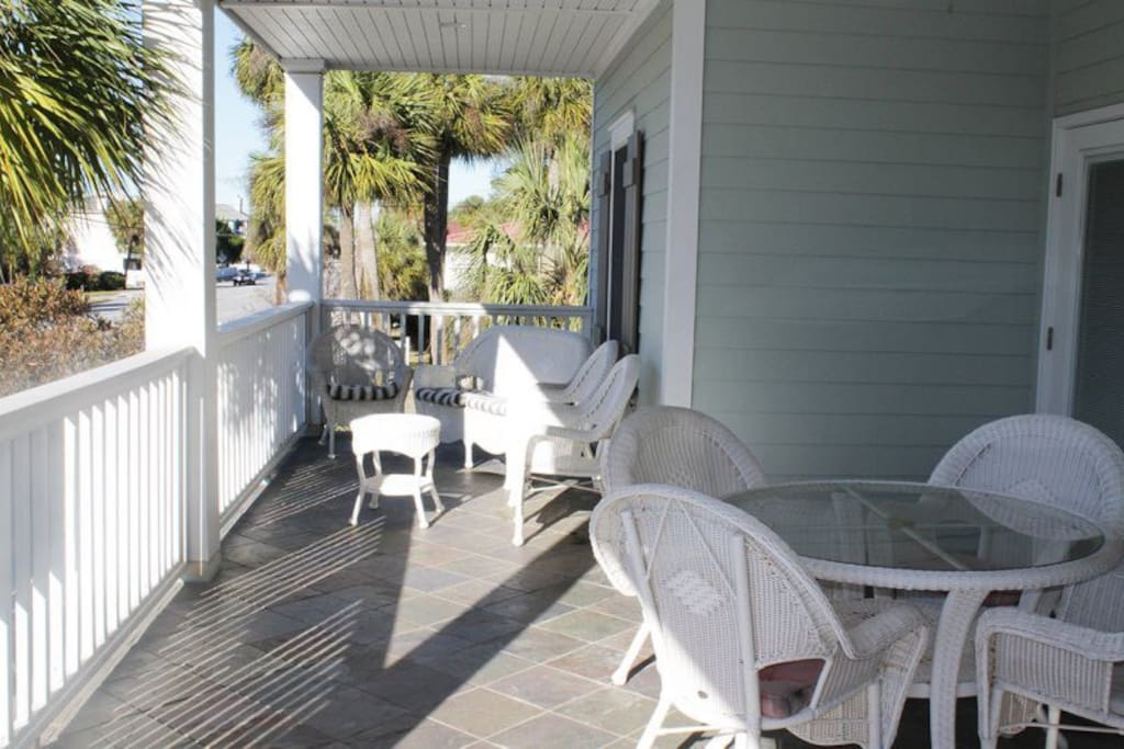 Large balconies to enjoy the sun and ocean breezes
