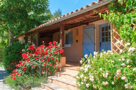 Cottage les Olives - Provence - heated pool - Châteauvert