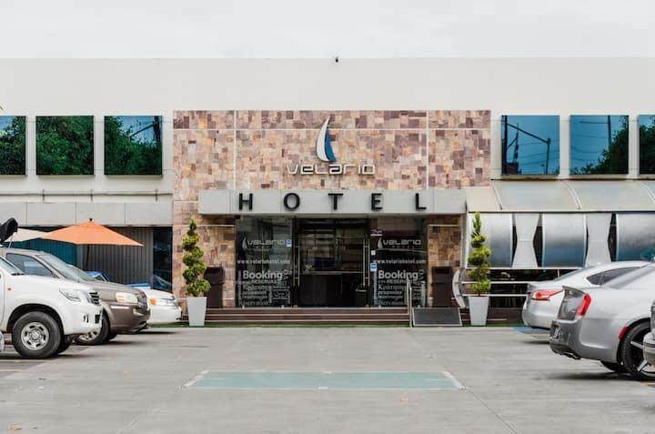 MX-TIJUANA Hotel Velario Habitación SENCILLA 1CAMA