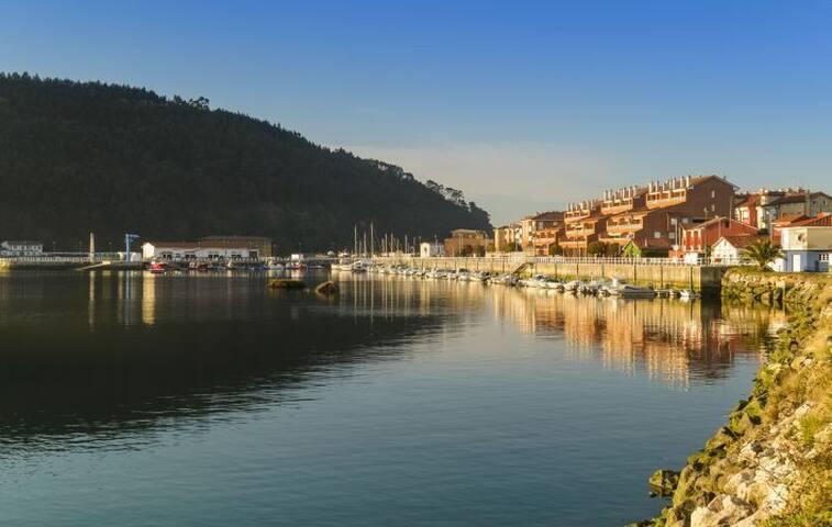 Apartamento en la costa asturiana