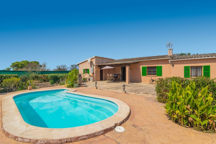 CA NA MENUDA - Cosy country house with private pool in quiet surroundings. Free WiFi