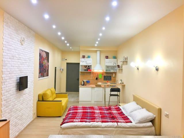 Квартира студия в мкр. Малая Истра