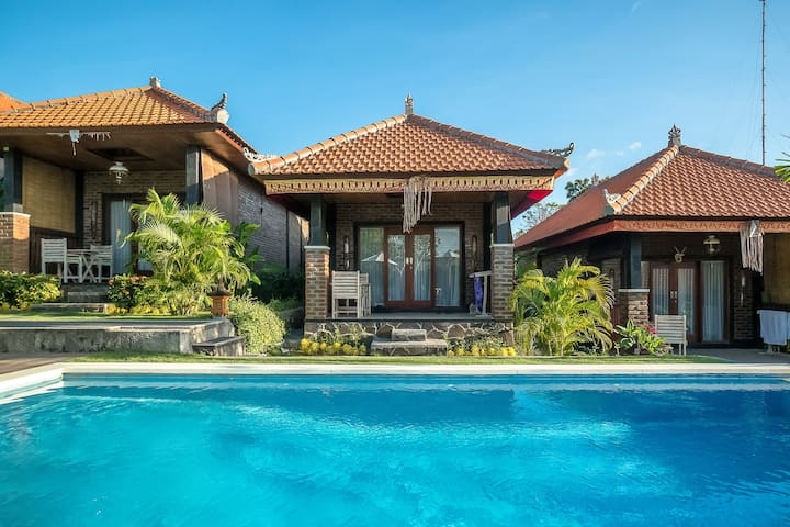 Tropical Chic Balinese Temple Cabin by Bukit Vista