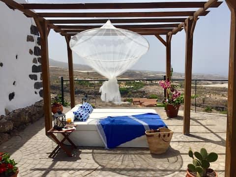 Casa del Roque、独立しており、眺めが良い