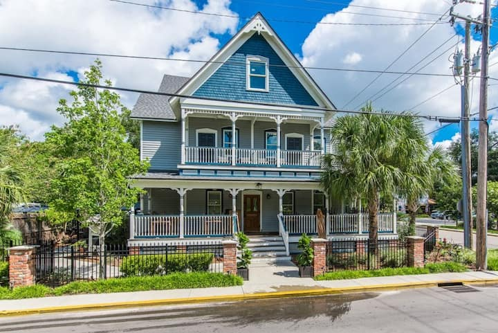 Perfect Downtown location for Sightseeing Historic St. Augustine!! Unit A