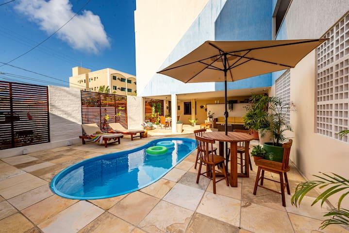 Apto 204 no Valencia Flat Hotel - Ponta Negra