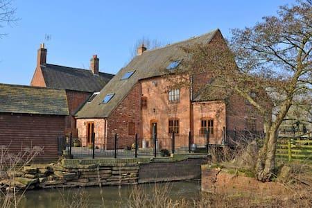 Charming, Modern, Riverside Bilstone Mill - Bilstone - Outros