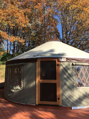 The Vineyard Yurt