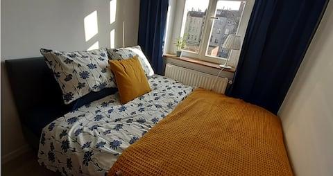 Słoneczny pokój z łazienką w centrum Legnicy