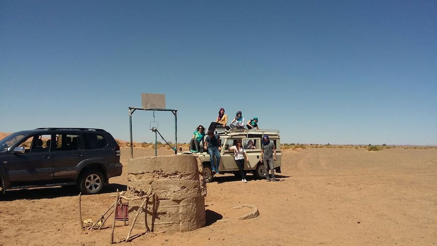 Un voyage spécial pour les personnes jeunes aux déserts