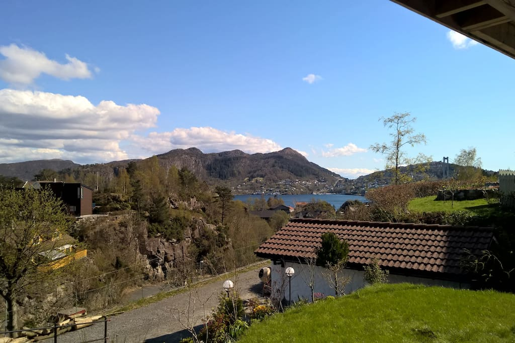 Utsikten fra huset