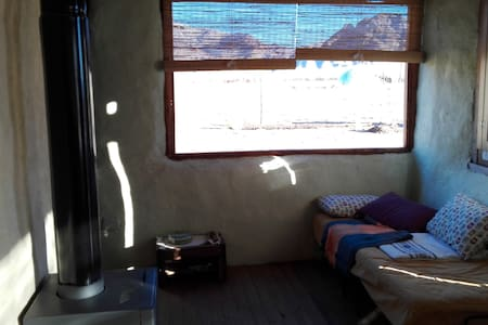 Cabaña hospedaje rural en San Alberto, Uspallata