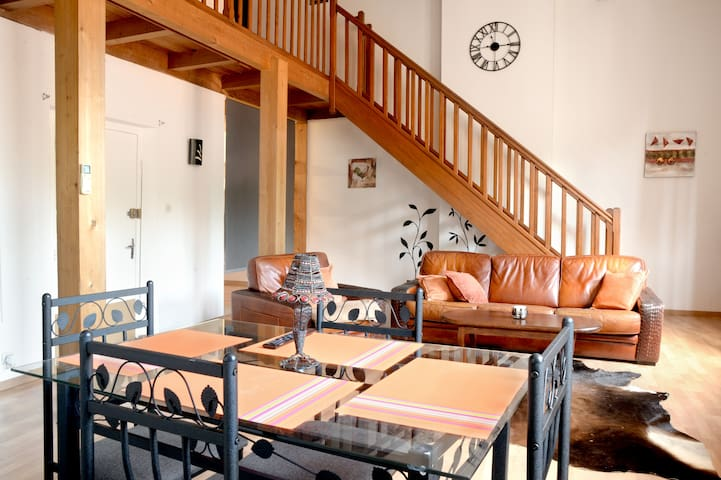 Duplex au Quatre Historic center of Pezenas