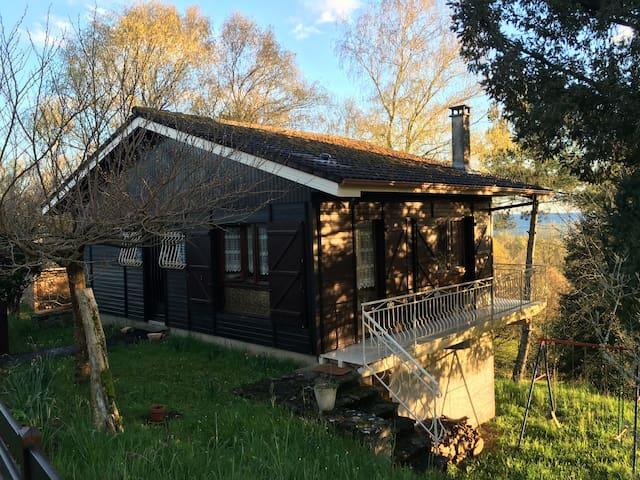 Chalet en pleine nature Corrèze/Lot