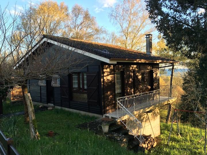 Chalet en pleine nature Beaulieu sur Dordogne