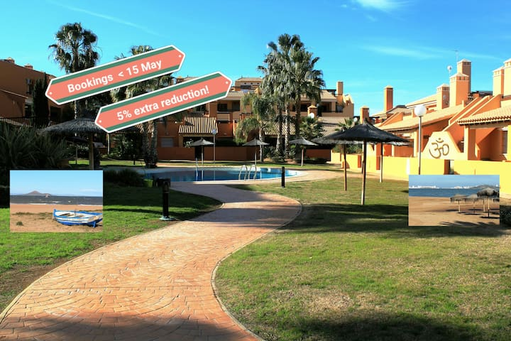Excellent well furnished apartment - Mar de Cristal - Flat