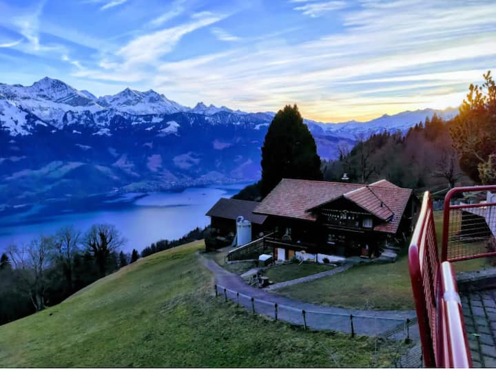 Historical Paradise at Swiss Alps