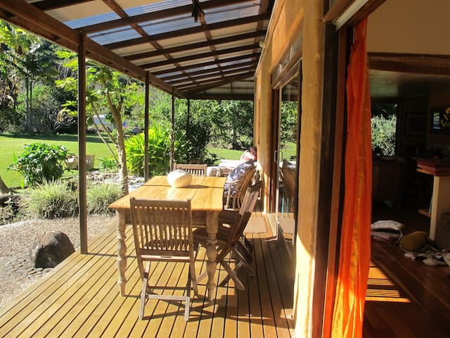 Beautiful eco home, Byron Hinterland - Goonengerry - Casa