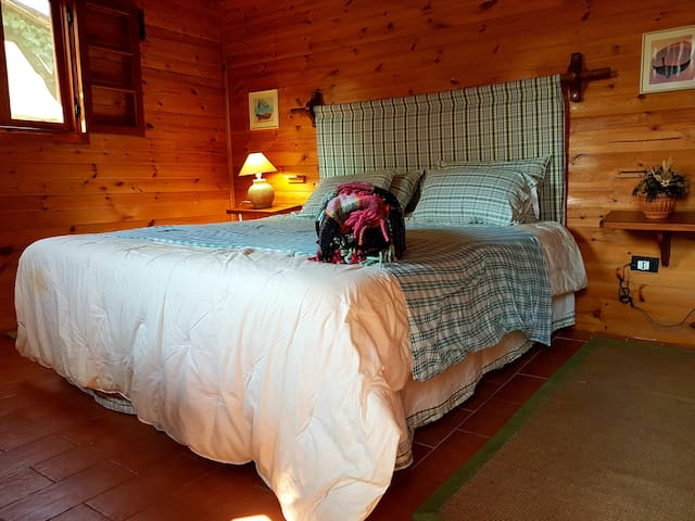 Chalet legno Romantico Parco Naturale