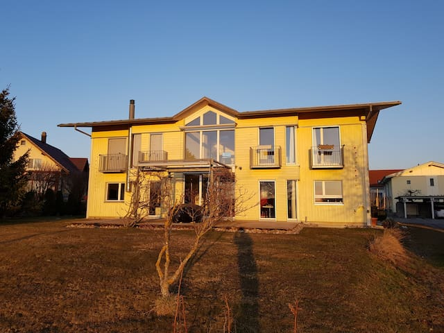 Sunny villa with a view near Bern and Freiburg