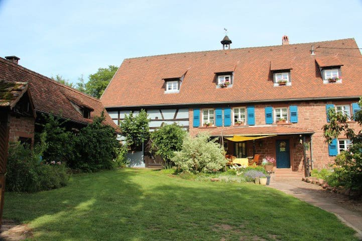 La Ferme du Heubuhl chambres d'hôtes Obersteinbach - Obersteinbach - Guesthouse