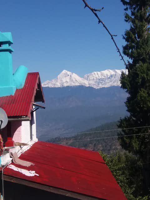 Himalayan Paradise-Pvt Room Kausani Uttarakhand