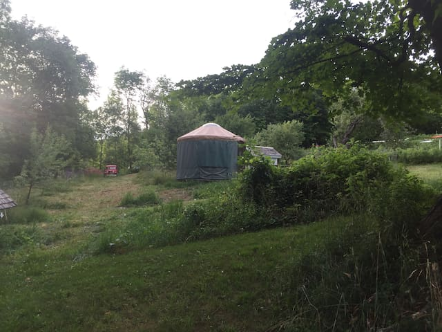 Yurt near Kingdom Trails - Outdoor heaven! - Burke - Yurta