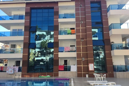 Cozy apartment with 2 swimming pools and hamam - Alanya