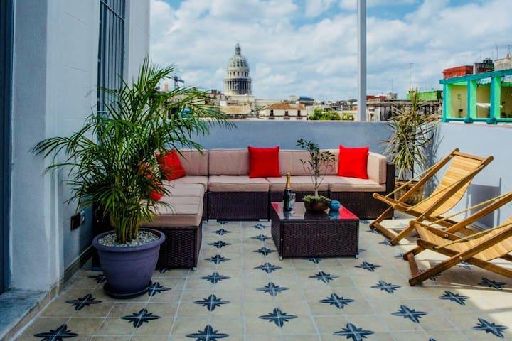 Terraza Vista Capitolio