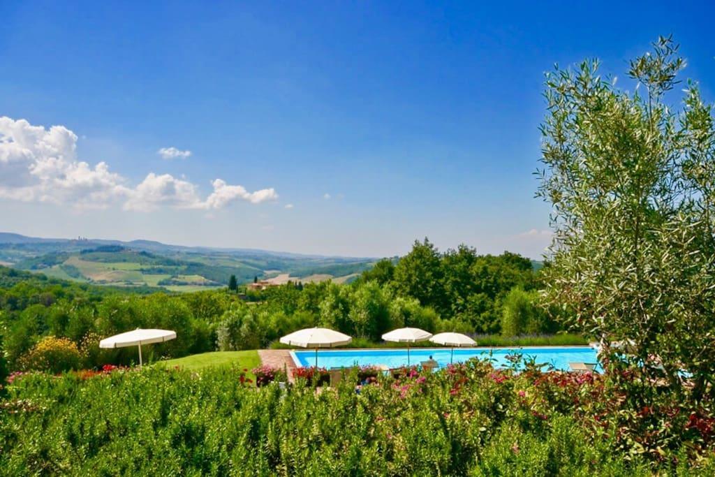 San Gimignano Villa Private Pool
