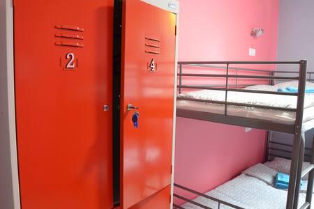 Кровать в мужском 4-местном номере - Bolshoy Sochi