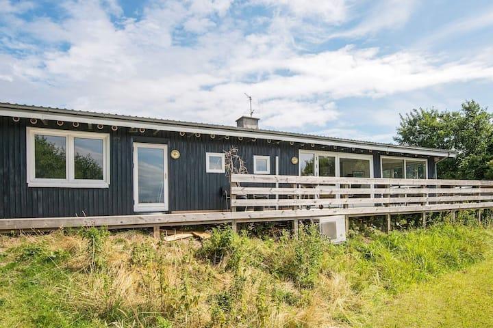 Maison de vacances luxueuse à Ebeltoft avec sauna