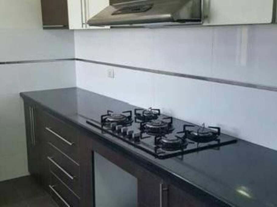 cocina elegante acabados