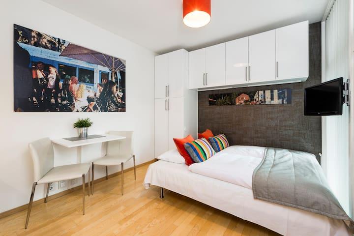 Micro-Apartment, Heimdalsgata 1B (1st floor)