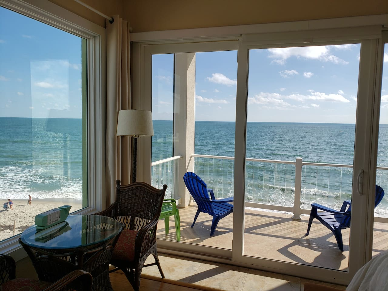 Entire Oceanfront Master En-Suite Directly ON the Beach!