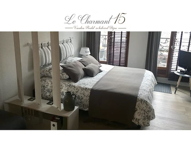 New : charming and unique location in Dijon ! - Dijon - Apartamento