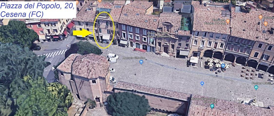 Appartamento in Piazza del Popolo