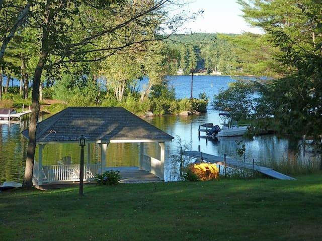 Waterfront on Long Lake, Bridgton, Maine