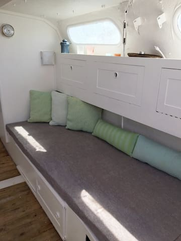 Try something new - spend a night on a boat