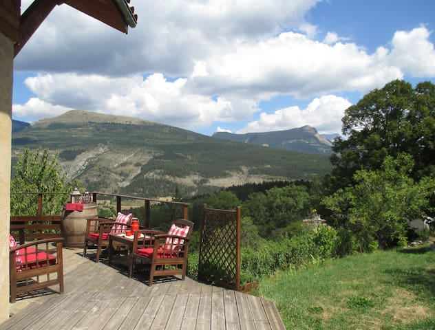 Chalet , view Beautiful - La Faurie - Chalé