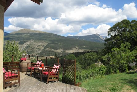Chalet , view Beautiful - La Faurie