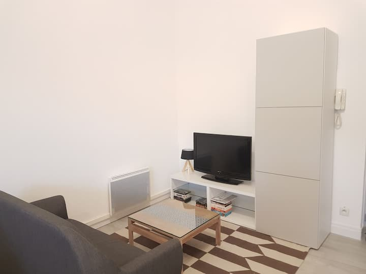 Appartement 45m2, idéal vacances et cure.