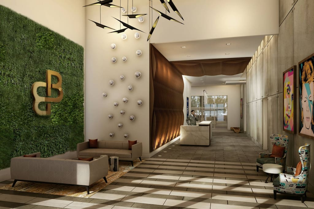 Lobby with Concierge Service