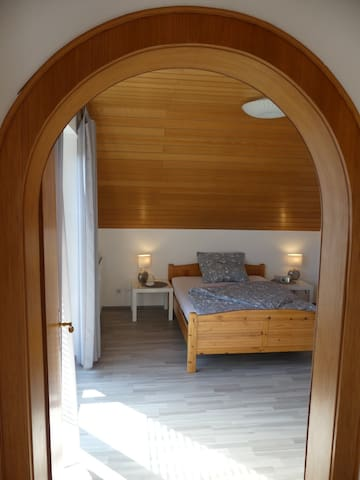 Blick ins Schlafzimmer / Your sleeping room