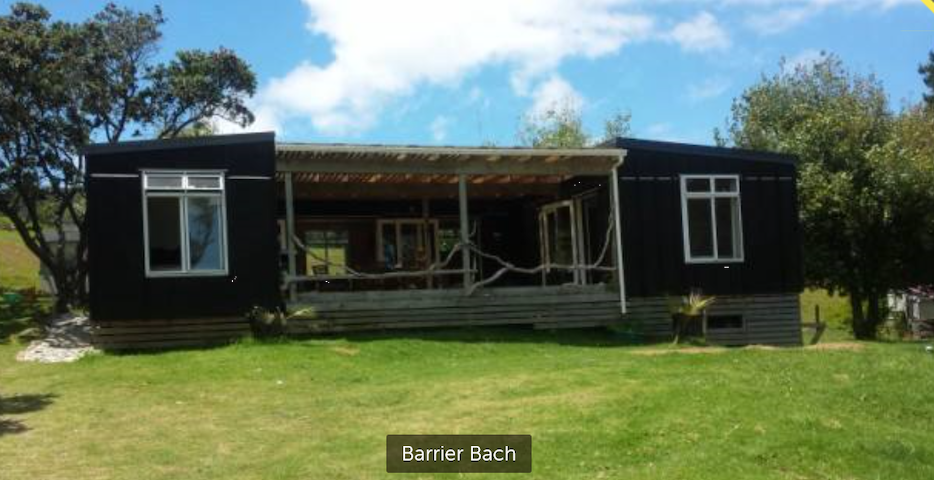 Barrier Bach - Great Barrier Island - Hus