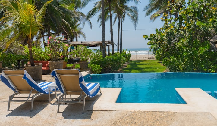 Casa de Playa Barra Vieja Acapulco