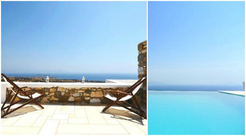1 Bedroom Pool House - Paros - Aspro Chorio - Huis